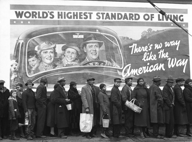 American Way. Margaret Bourke-White. 1937